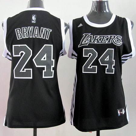 Camiseta Bryant Mod.2 #24 Los Angeles Lakers Mujer Negro